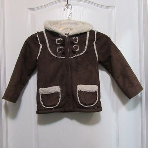 Kids size 5 fall coat Old Navy with a hood